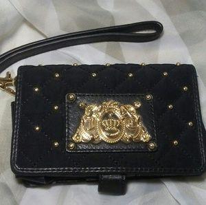 Juicy Couture Quilt Phone Wallet Lipstick Wristlet
